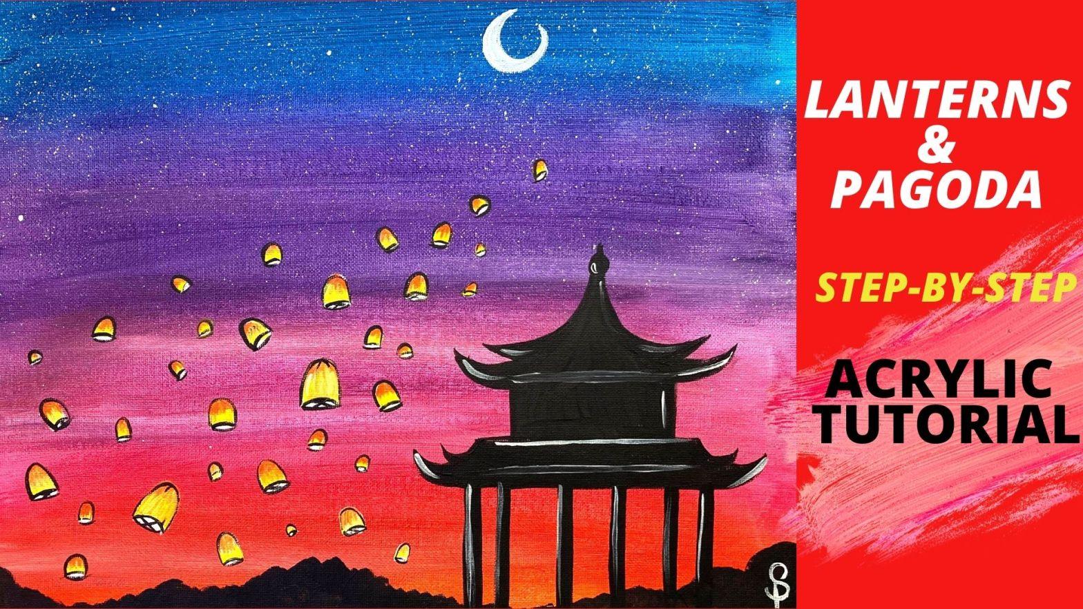 lanterns and padoga